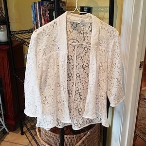 Lace top new york & co